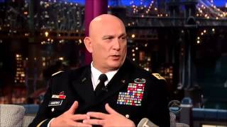General Ray Odierno November 11, 2013 Late Shw with David Letterman
