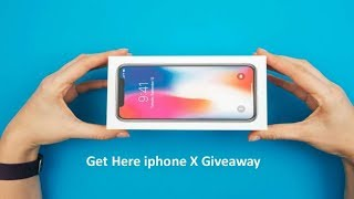 IPHONE X GIVEAWAY! 2019
