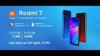 Redmi 7 | Smartphone | The Ultimate all-rounder