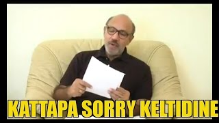 Kattapa is asking sorry for kannada people