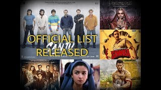 Top 10 Best Bollywood Movies of 2018 । OFFICIAL LIST RELEASED