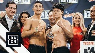 Munguia vs. Inoue Official Weigh-In