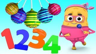 Cartoon Nursery Rhymes for Kids - 3D Animation Nursery Rhymes for Children to Learn Colors & Numbers