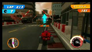 Hot Wheels Track Attack F1 Racer City Race 2
