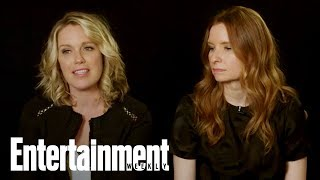 Playing House's Jessica St. Clair & Lennon Parham On Tackling The Big C | Entertainment Weekly