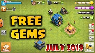 CLASH OF CLANS HACK - FREE UNLIMITED GEMS | JULY 2019