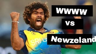 Malinga 4 balls 4 wickets vs Newzeland in 3rd T20
