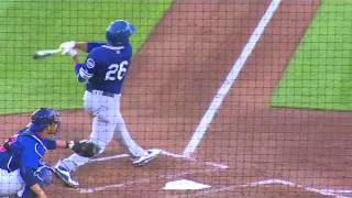 OKC Dodgers' Corey Brown, Rob Segedin hit back to back home runs 4/25.