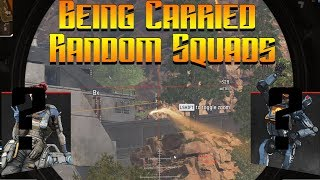 Being Carried to an Ezy Dub Random Squads! Ep:3 Apex Legends.