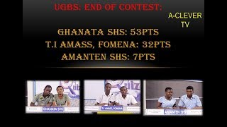 HIGHLIGHT;  RESULT OF NATIONAL MATHS AND SCIENCE QUIZ  PRELIMINARY STAGE CONTEST
