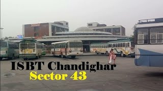 Chandigarh Sector 43 Bus Stand | ISBT Bus Stand Chandigarh, Punjab