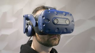 HTC Vive Pro Eye hands-on: first VR headset with eye tracking