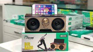 Best budget Bluetooth speakers in ticon mobile accessories under 200 -1500 ₹, Bass speakers of ticon