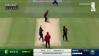 David Warner 1St International T20 Hundred Vs Srilanka 1st T20 2019
