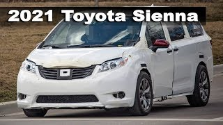 All New 2021 Toyota Sienna Prortotype