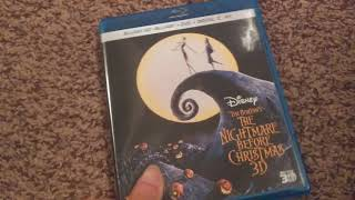 Tim Burton's The Nightmare Before Christmas 3D Blu Ray Unboxing