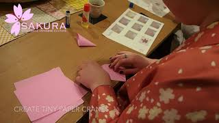 Origami (Paper Folding) Crafting Class in Kyoto
