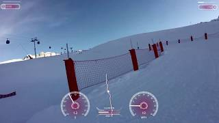Moriond Racing toboggan run Luge - Courchevel 1650