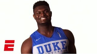 Zion Williamson ready to live up to enormous hype at Duke | College Basketball