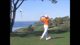 Rickie Fowler driver slow motion review