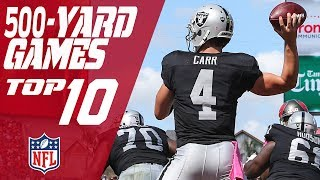 Top 10 500-Yard Passing Games in NFL History   NFL