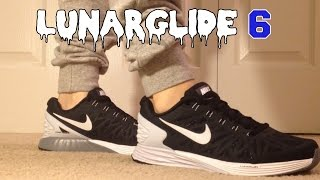 Review + On Feet: Nike LunarGlide 6