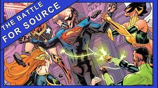 Battle For The Source Wall | Justice League Annual #1 (2019)