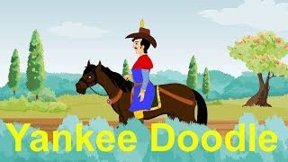 Yankee Doodle Song With Lyrics - Nursery Rhymes & Educational Songs for Children, Kindergarten, Kids