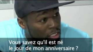 50 Cent at French Newspaper Metro Interview (2009)