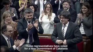 Catalonia's roadmap for independence