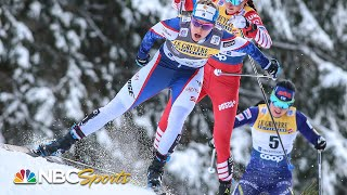 Olympic gold medalist Jessie Diggins wins FIS Cross-Country Skiing World Cup sprint | NBC Sports