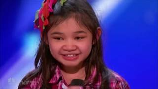 Angelica Hale  Future Star STUNS The Crowd OH  MY  GOD!!!   Auditions 2   America's Got Talent 2017