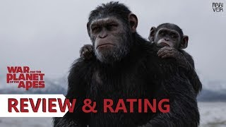 War for the Planet of the Apes Review & Rating   Arriver