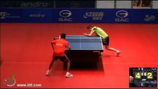 ITTF World Tour Polish Open 2013 GNANASEKARAN Sathiyan vs BIALEK Artur