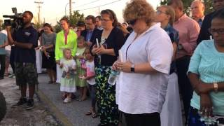 Candlelight Vigil for Tricia Williams Todd