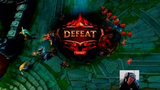 trying to be motivational while dying in lol *with weirdchamp ending*
