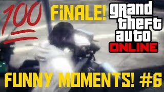 Ice Water |Grand Theft Auto V: Online - Funny Moments #6 Finale!