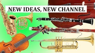 New Ideas! New projects and arrangements!