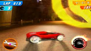 Hot Wheels: Track Attack Redone-Mines Race