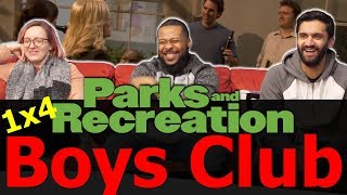 Parks and Recreation - 1x4 Boys Club - Reaction