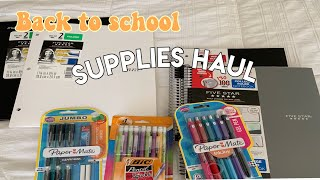SCHOOL SUPPLIES HAUL 2019!✏️✏️