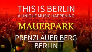 Unique music happening. This is Berlin