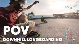 Can Downhill Longboarding Get Any Faster? | Red Bull No Paws Down 2018 POV