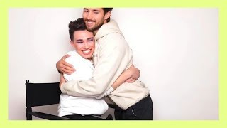 james charles and jeff flirting with eachother