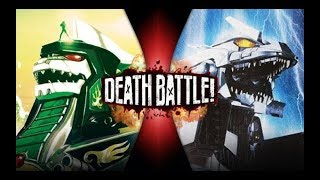 DEATH BATTLE【生死决斗】龙佐德VS机械哥斯拉 Dragonzord VS Mechagodzilla 中文字幕