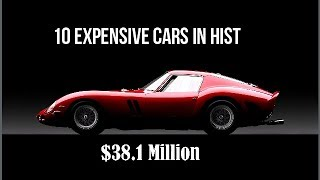 OMG !  10 Expensive Cars in History !