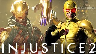 "EPIC HEAT WAVE CAPTAIN COLD VS REVERSE FLASH - Injustice 2: ""Captain Cold"" Gameplay"