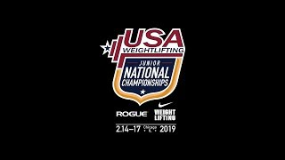 2019 National Junior Championships - Blue Platform - Saturday