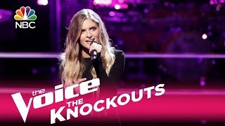 """The Voice 2017 Knockout - Lauren Duski: """"When You Say Nothing at All"""""""