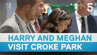 Prince Harry and Meghan Markle visit Croke park in Dublin - 5 News